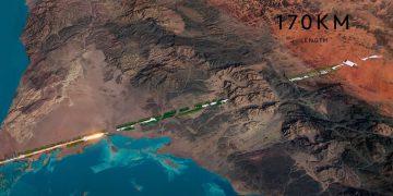 Miasto Linia Arabia Saudyjska