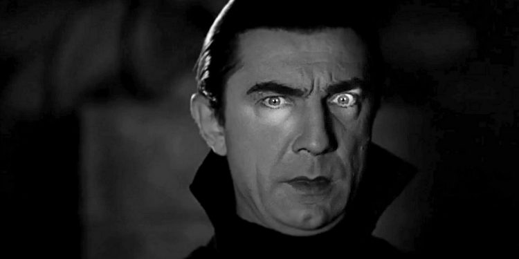 Béla Lugosi jako Dracula (1931). Foto Prime News: Wikimedia Commons