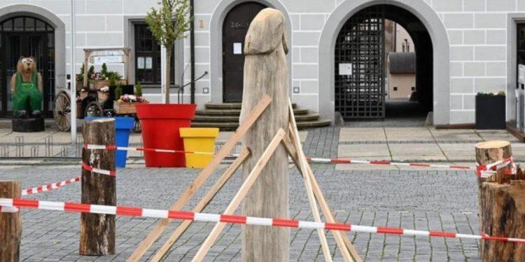 rzeźba szparaga torgau