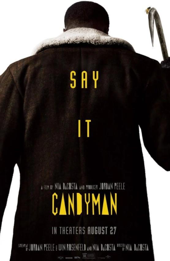 Candyman zwiastun i plakat